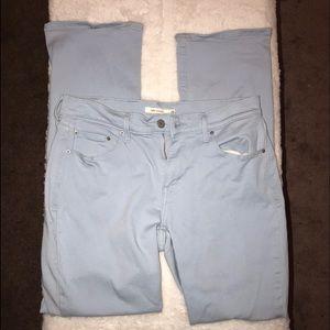 505 Levi light blue jeans